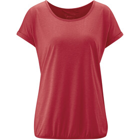 Maier Sports Lulea T-Shirt Damen chili pepper melange